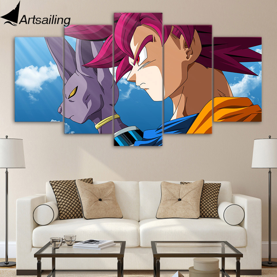 Aliexpress Com Buy Free Shipping 3 Piece Wall Decor: Aliexpress.com : Buy ArtSailing 5 Piece Canvas Art Print