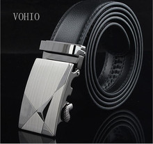 VOHIO Free shipping Men's belt high-grade automatic buckle belts