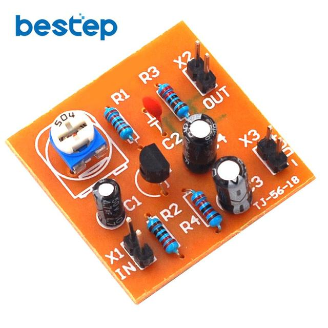 US $0 71 |DIY Kit DC12V Typical Division Voltage Bias Single Tube Low  Frequency Amplifier Circuit Board DIY-in Integrated Circuits from  Electronic