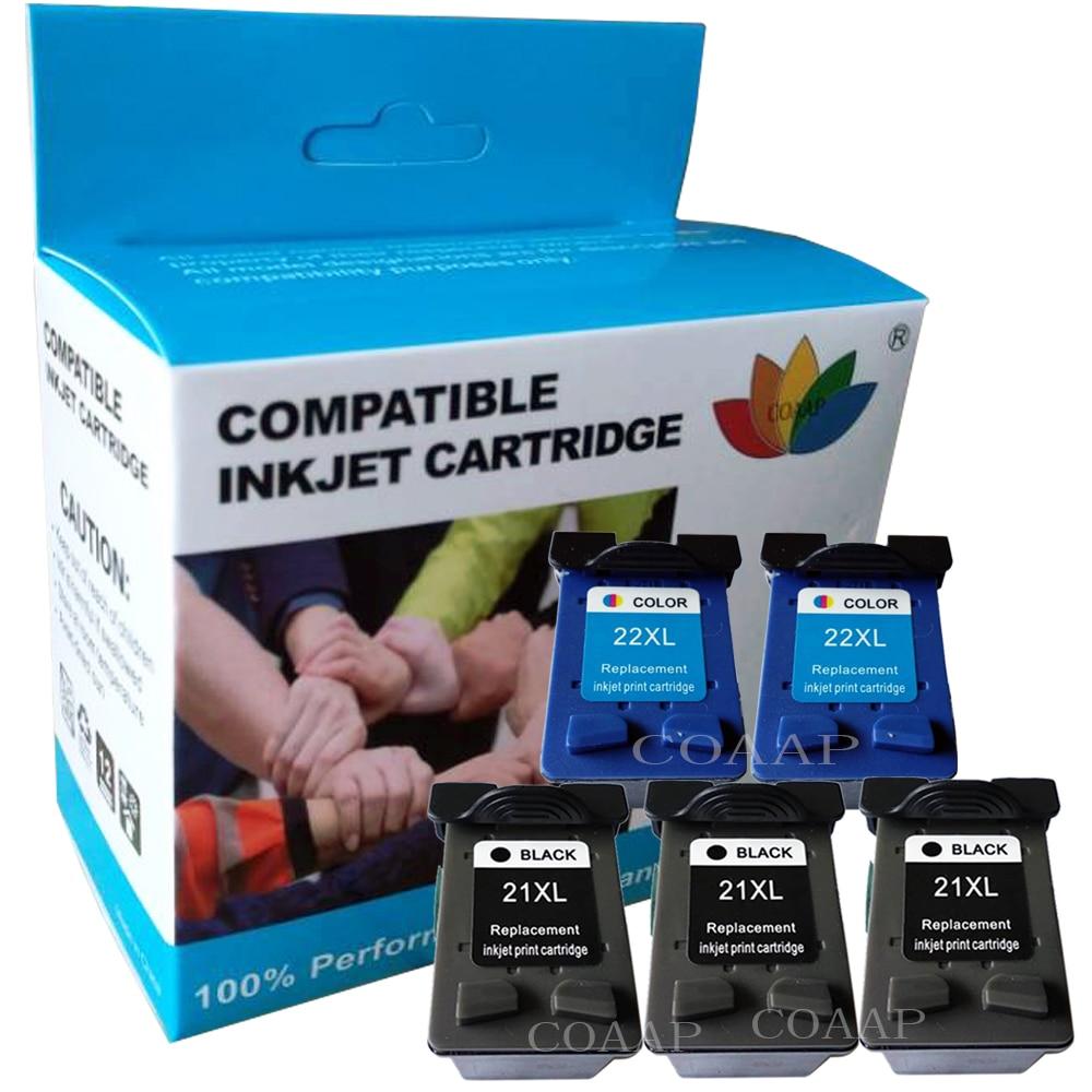 21XL 22XL Replacement Ink Cartridge for HP Deskjet F4180 D1311 D1360 F2180 F2280 F2290 F370 F375 F380 Printer for hp21 22