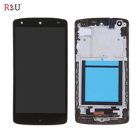 4 95 LCD Display Touch Screen Panel Digitizer Glass Sensor Assembly With Frame Replacement For LG