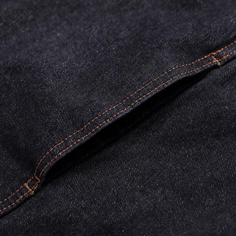 Jean De 8xl 7xl Bomber Casual Slim Black Denim Hommes 2019 Veste Haute Taille La 5xl Qualité Jacke 6xl Solide Nouveau Plus Cowboy UHqxvf