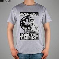Star Wars Sith Empire nous voulons que vous enrôler aujourd'hui T-shirt Marque De Mode t-shirt hommes nouveau