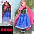 Disney Juguetes de Regalo de Moda Para Niños Frozen Elsa Princesa Muñecas Para Chicas Muchachas Americanas Dolls Juguetes Brinquedos Ty051