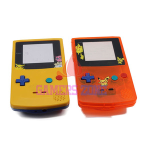 Image 2 - For GameBoy Color  Limitd Edition Clear Orange Yellow Replacement Housing Shell For GBC Housing Case Pack