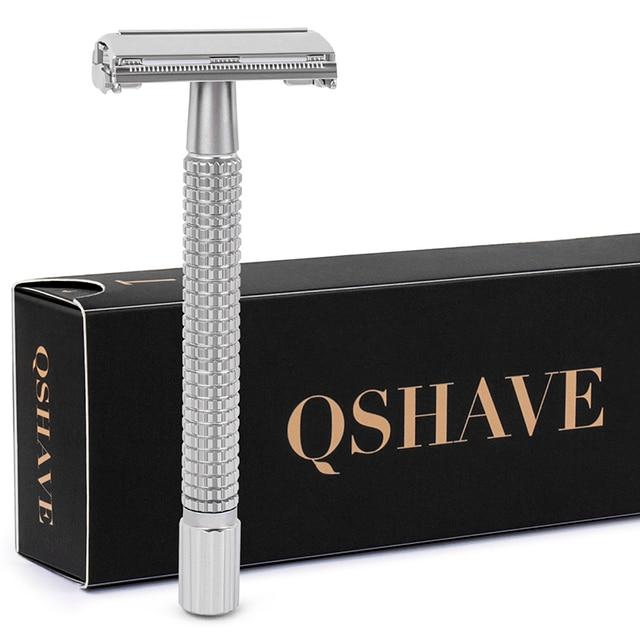 Безопасная бритва Qshave RD239 с лезвиями