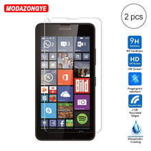 2Pcs Glass For Nokia Lumia 640 5.0 inches Screen Protector Film Protective Tempered Glass
