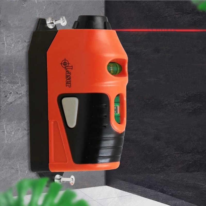 Mini แนวตั้งเครื่องมือระดับเลเซอร์ระดับเลเซอร์ตรง Laser Guided ระดับสายวัด Gauge Tool