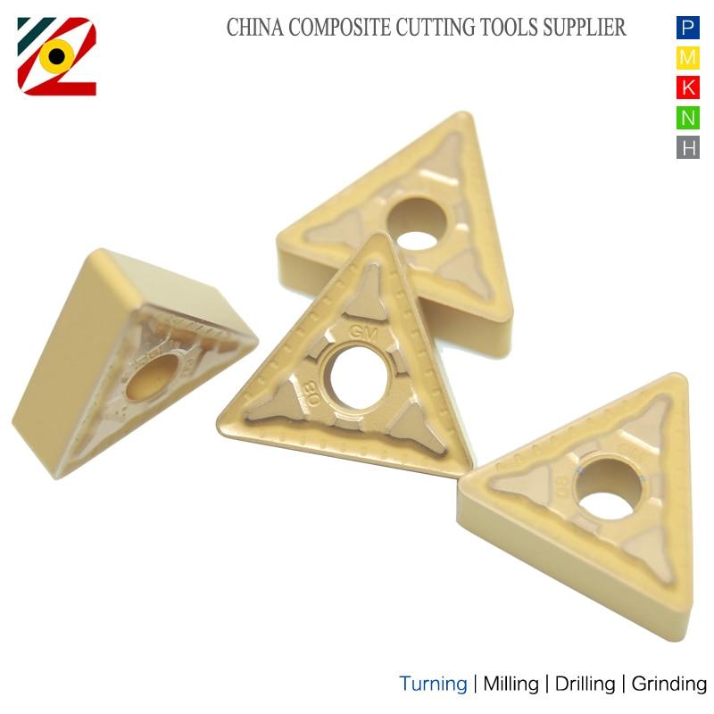 Inserti in metallo duro per utensili CNC TNMG160404 TNMG160408 - Macchine utensili e accessori - Fotografia 3