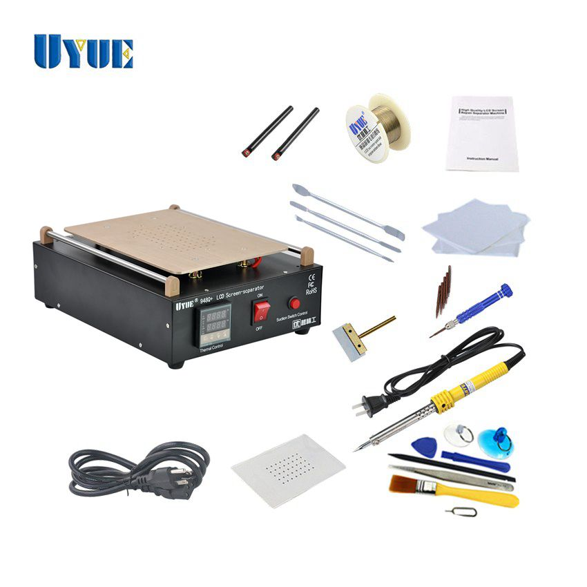 UYUE 948Q+ Max 11 inches Lens Glass Repair Built-in Vacuum Pump Mobile Phone LCD Touch Screen Separator Machine детское page 1