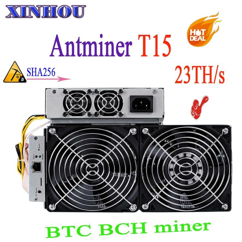 BITMAIN Yeni Te madenci AntMiner T15 23 T 7nm PSU Ile SHA256 Bitcoin Madenci Daha iyi S9 T9 WhatsMiner M3 m10 Innosilicon T2BITMAIN Yeni Te madenci AntMiner T15 23 T 7nm PSU Ile SHA256 Bitcoin Madenci Daha iyi S9 T9 WhatsMiner M3 m10 Innosilicon T2