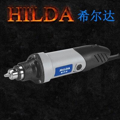 Professional Hilda Dremel Hardware Variable Speed Tool Electric Tools 400W Electric Mini Die Grinder Multifunctional Power