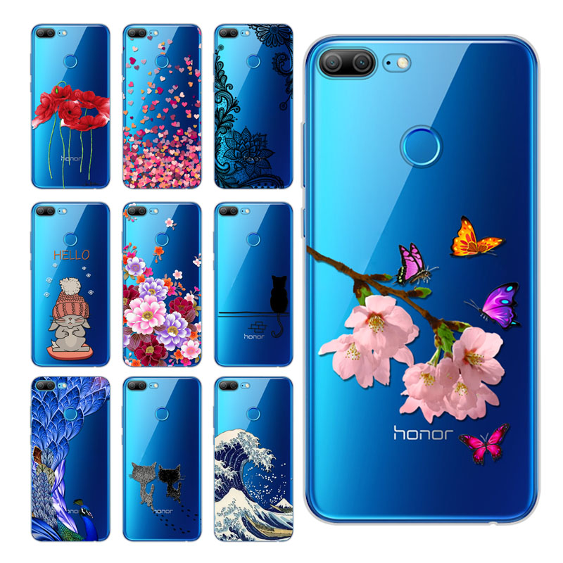 5,65 inch Huawei <font><b>Honor</b></font> <font><b>9</b></font> <font><b>Lite</b></font> Case Cover, Printed Soft Silicon TPU Back Cover Case Huawei <font><b>Honor</b></font> <font><b>9</b></font> <font><b>Lite</b></font> <font><b>honor</b></font> 10 <font><b>lite</b></font> Phone Cases image