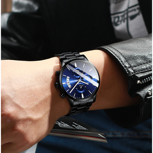 Image 4 - גברים של שעון יוקרה מותג BELUSHI גבוהה סוף איש עסקים מקרית שעונים Mens עמיד למים ספורט קוורץ שעוני יד relogio masculino