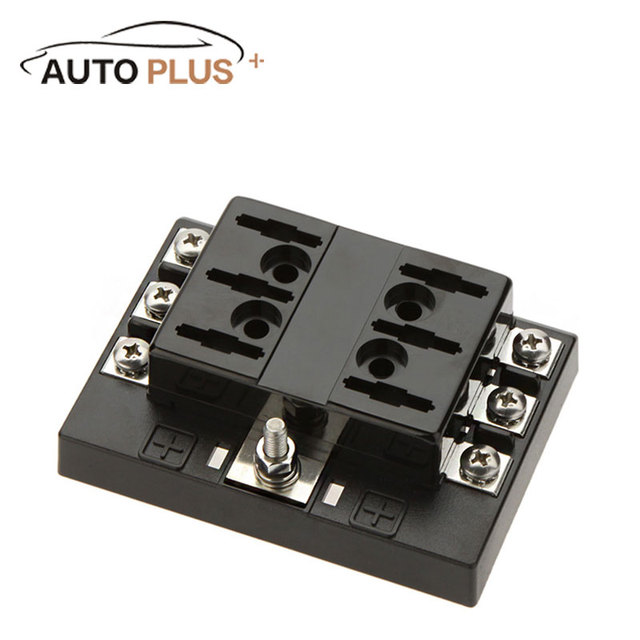 Hot Sale 6 Way Circuit Car Fuse Box Holder 32V DC Waterproof Blade Fuse holder Block_640x640 aliexpress com buy hot sale 6 way circuit car fuse box holder fuse box for sale at bayanpartner.co