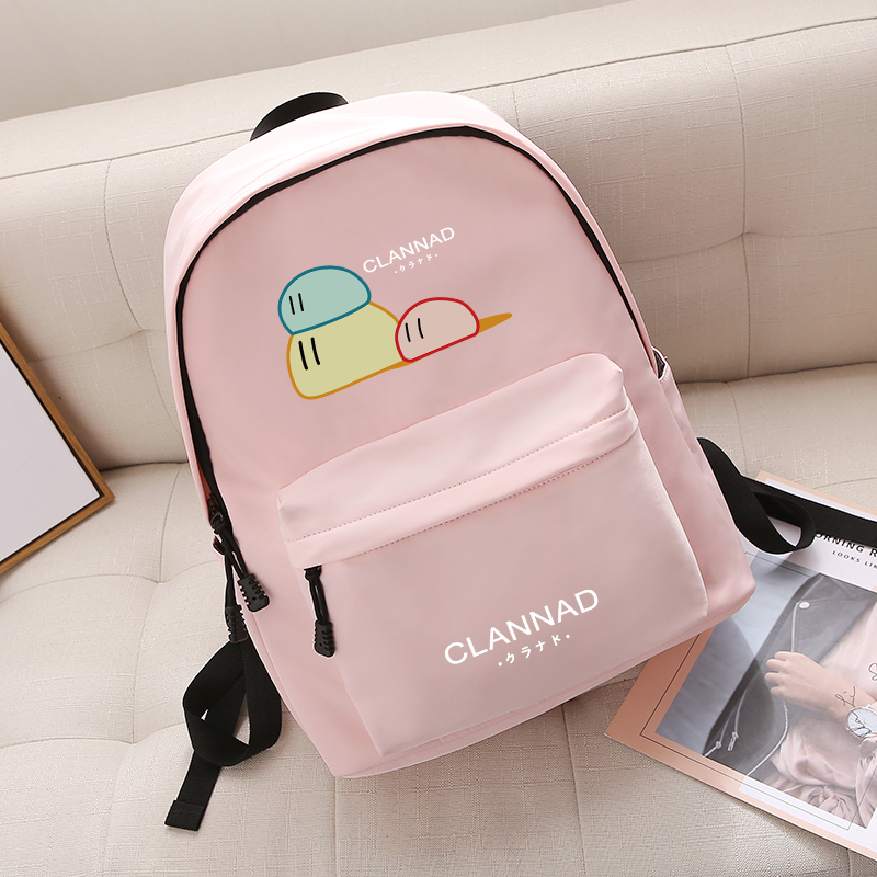 Anime Clannad Korean Cartoon Anime Schoolbag Male and female Student Travel bag Waterproof Backpack anime tokyo ghoul cosplay anime shoulder bag male and female middle school student travel leisure backpack