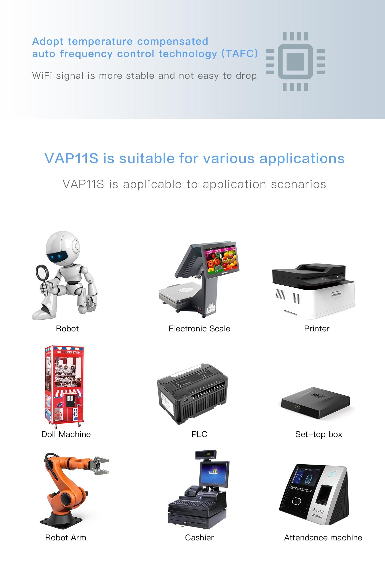 Big Sale] VONETS VAP11S RJ45 mini wireless to wired bridge repeater