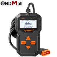 OBD OBD2 Scanner NX301 OBD 2 Car Diagnostic Tool Fault Code Reader Multi language Portuguese PK ELM327 Universal OBDII Scan tool