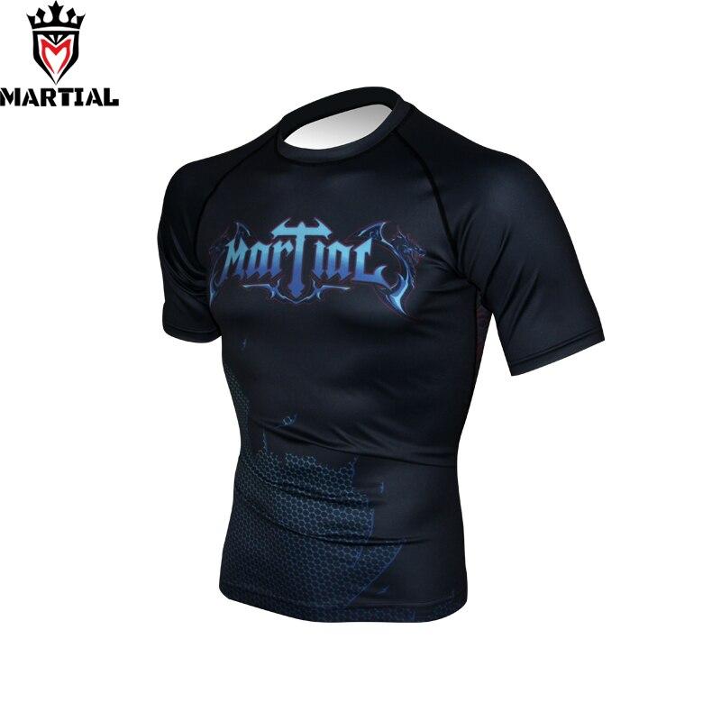 BJJ jiu-jitsu Rash Guard Short Sleeve Warrior Design