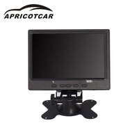7 Inch LCD Monitor Car Rear View Display Bright HDMI Interface TFT VGA AV Monitor HD