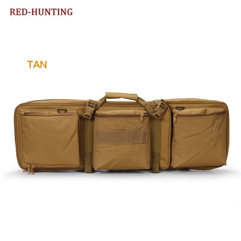 Airsoft Gear M4 Series High Density Nylon Hunting Rifle Gun Bag Case Tactical 85CM Dual Rifle