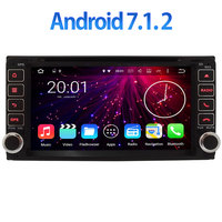2GB RAM 2 DIN 6 95 Inch Android 7 1 2 Quad 4 Core Car Radio