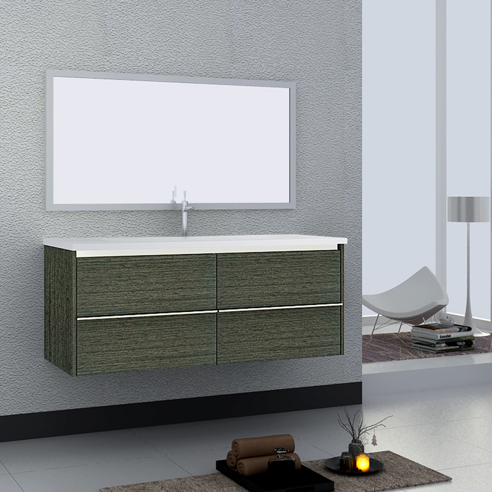 Linkok Furniture wall mounted lowes bathroom vanity cabinets-in