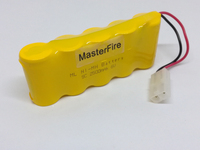 MasterFire 2PACK LOT Brand New SC 6V 2500mAh Ni Mh Battery Rechargeable NiMH Batteries Pack For