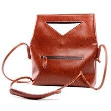 شحن مجاني العلامة التجارية مصمم 2017 المرأة جلد طبيعي خمر حقيبة كتف مفردة المرأة Crossbody حقائب للسيدات