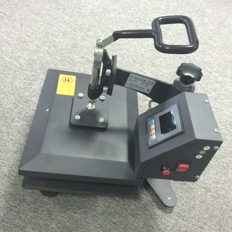 Manual heat transfer machine for t shirt and multicolors for Computerized t shirt printing machine
