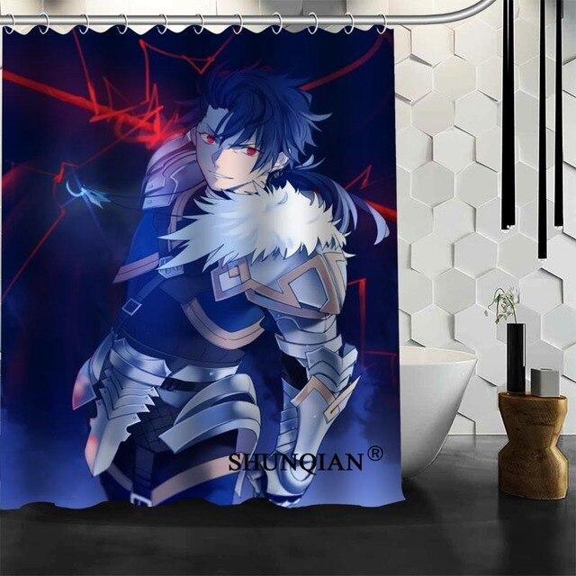 Hot Sale Bathroom Curtains anime boy Shower Curtain Custom ...