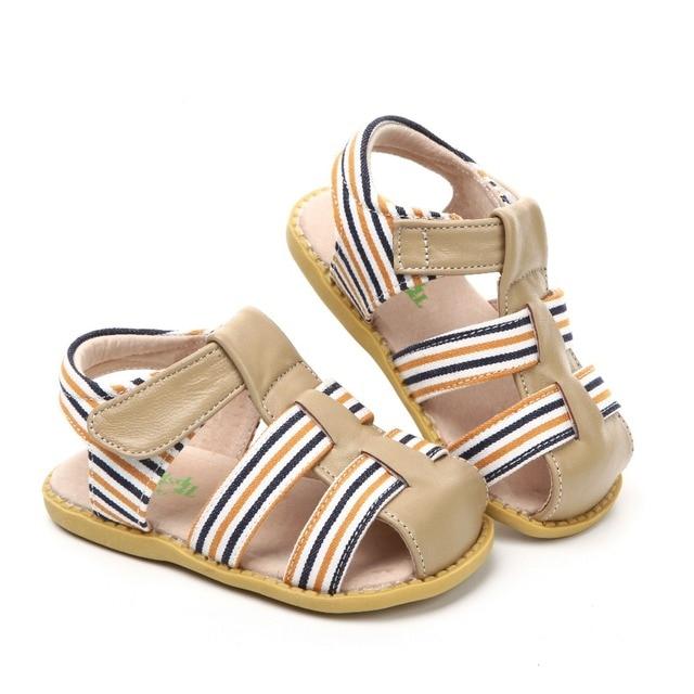 Zapatos de bebé a la moda para niñas 2020 de la marca Tipsietoes, sandalias suaves, transpirables, cómodas, para niños, informales de cuero 21032 para hombres