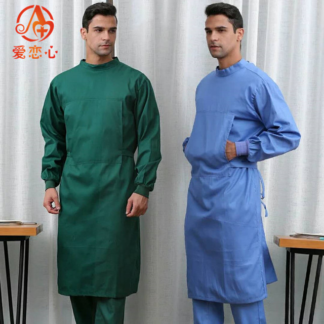 NEW Long Surgical Surgeon Gown Medical Clothing Reinforced ...