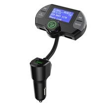 G21 QC3.0 المزدوج منافذ USB شاحن سيارة DAB استقبال Mp3 لاعب بلوتوث اللاسلكية حر اليدين مكالمة طقم جهاز بث إف إم للسيارة