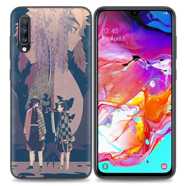 Demon Slayer Kimetsu No Yaiba Case Cover For Samsung Galaxy A Series