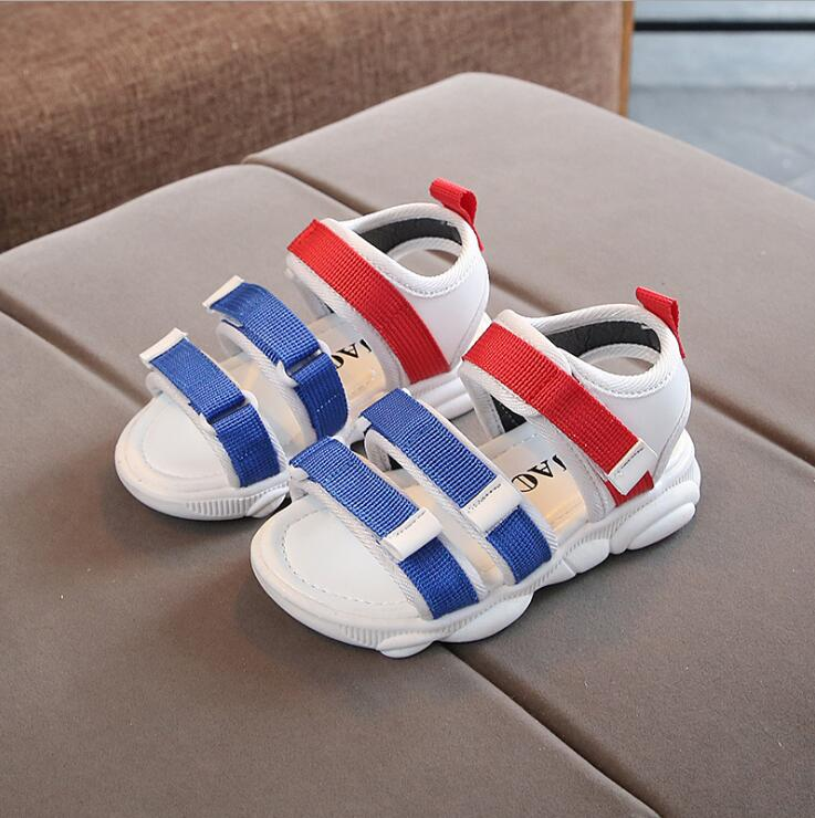 New Summer Kids Beach Sandals Baby Girls Sandals Children Casual Shoes Boys Pink Sandals Toddler Soft Brand Sandal