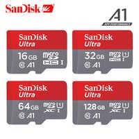 SanDisk speicher karte 16GB 32GB 64GB 128GB 100 mb/s UHS-I TF Micro SD karte class10 Ultra SDHC SDXC-speicher karte