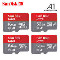 Tarjeta de memoria SanDisk 16GB 32GB 64GB 128GB 100 MB/S UHS-I TF Micro SD tarjeta Class10 Ultra SDHC SDXC tarjeta de memoria flash
