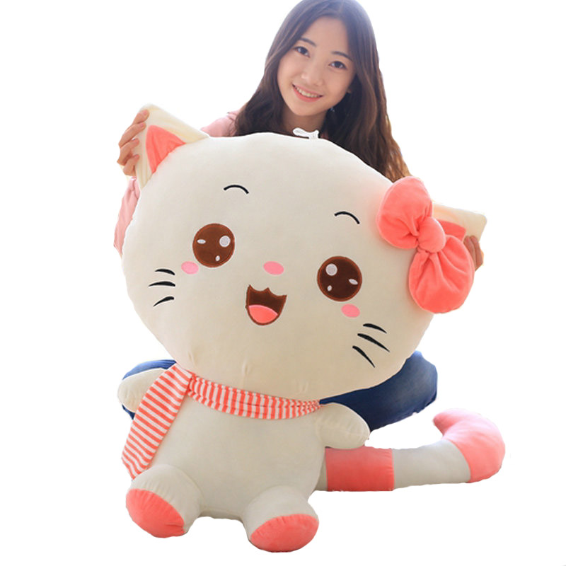 40-100cm Large size toys Cute cat plush toys stuffed plush animals doll pink/purple/red plush pillow soft cushion birthday gift туфли zenden collection zenden collection ze012amvsa51