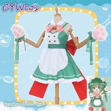 Anime Cosplay My Hero Academia Coffee Shop Little Hero Izuku Midoriya deku Cafe Maid Female Cosplay Costume Cat Woman Dress little hero стучалка little hero с молоточком