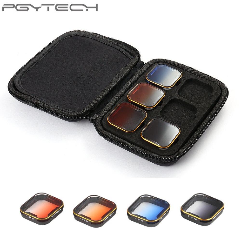 4 шт./компл. окончил Цвет Объектив Набор фильтров серый/синий/оранжевый/красный для GoPro Hero 5