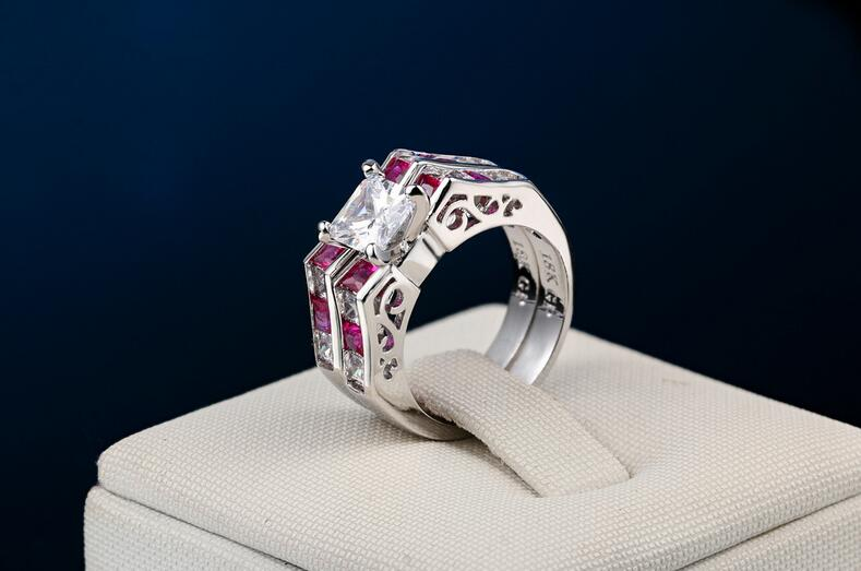 Fashion ladies ring-in Rings from Jewelry & Accessories    1