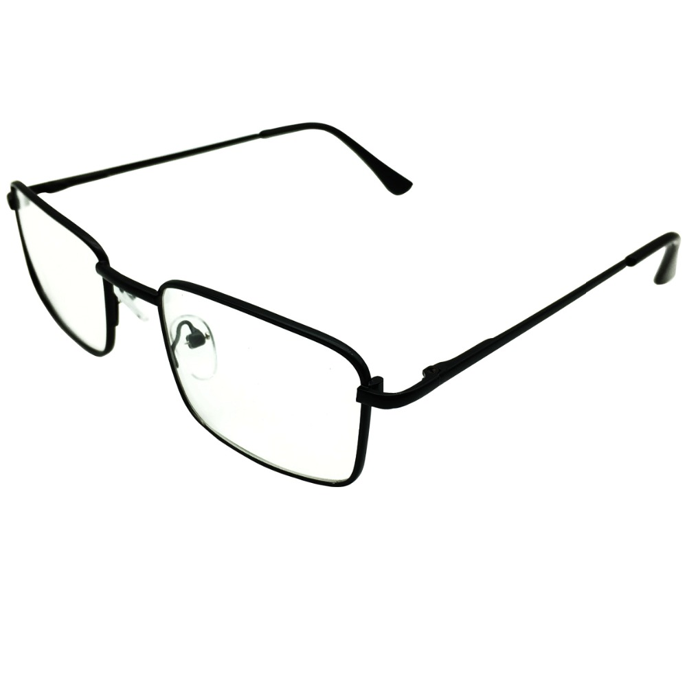 Classic Half Rim Reading Glasses Readers Eyeglasses Eyewear Mens Womens Prescription 6.0 Black Gold Silver Spectacles Durable In Use 0.50 To
