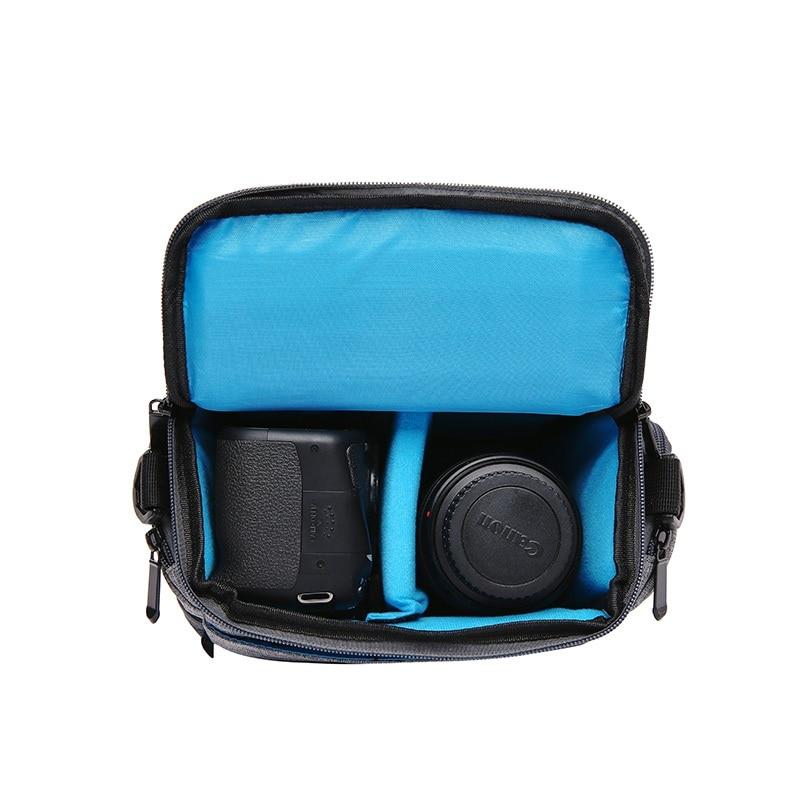capsaver DSLR Camera Bag Single Shoulder Waterproof Carry Bag Removable Interior Dividers Camera Video Soft Case with Rain Cover