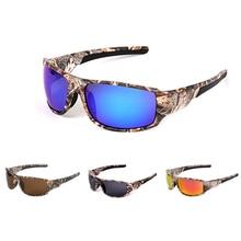 ca0f0f6fe1 Camouflage lunettes de pêche polarisées hommes femmes cyclisme randonnée  conduite lunettes de soleil en plein air