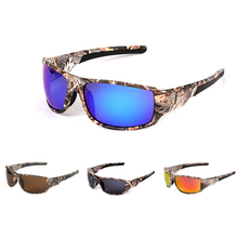 Camuflaje polarizado gafas de pesca hombres mujeres ciclismo senderismo  conducción gafas de sol deporte al aire libre Camo monta. 4a8e59f9bf5b