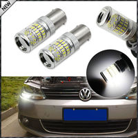 CANbus HID White Reflector LED Bulbs For Volkswagen MK6 Jetta Daytime DRL Lights