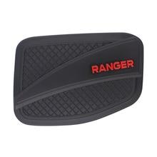 Per Ford Ranger T6 T7 T8 2012-2019 Esterno Coperchio Del Serbatoio Del Carburante Opaco Nero ABS di Plastica di Copertura del Gas 4X4 Accessori Auto Accessori Auto