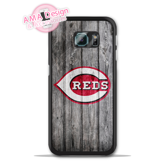 Cincinnati Reds Baseball Case For Galaxy S8 S7 S6 Edge Plus S5 S4 mini active Ace Win S3 Core Note 4 2