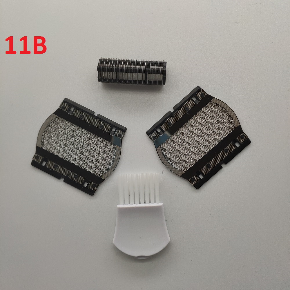 2 X Shaver Foil + 1 X Blade For Braun 11B Series 1 110 120 130 140 150 150s-1 130s-1 5684 5685 Shaving Razor 10% OFF For 10 Sets